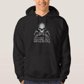 Fabricator Skull: Crossed Torches Hoodie