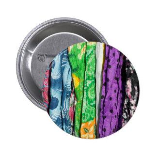 Fabrics background 2 inch round button