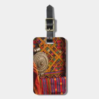 Fabrics, Bhutan Tag For Luggage