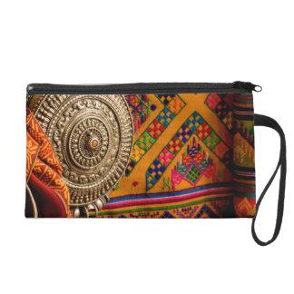 Fabrics, Bhutan Wristlet Purse