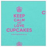 [Cupcake] keep calm and love cupcakes  Fabrics Fabric