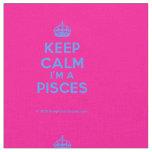 [Crown] keep calm i'm a pisces  Fabrics Fabric