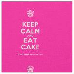 [Cupcake] keep calm and eat cake  Fabrics Fabric