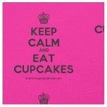 [Cupcake] keep calm and eat cupcakes  Fabrics Fabric