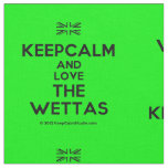 [UK Flag] keepcalm and love the wettas  Fabrics Fabric