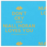 [Two hearts] don't cry coz niall horan loves you  Fabrics Fabric