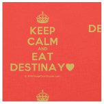 [Crown] keep calm and eat destinay♥  Fabrics Fabric
