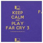 [Computer] keep calm and play far cry 3  Fabrics Fabric