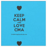 [Love heart] keep calm and love cma  Fabrics Fabric