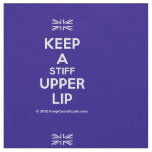 [UK Flag] keep a stiff upper lip  Fabrics Fabric