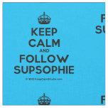 [Crown] keep calm and follow supsophie  Fabrics Fabric