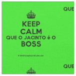 [Crown] keep calm que o jacinto é o boss  Fabrics Fabric