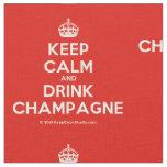 [Crown] keep calm and drink champagne  Fabrics Fabric