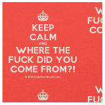 [Crown] keep calm and where the fuck did you come from?!  Fabrics Fabric