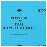 [Two hearts] i #love b5 hot tall boys that melt  Fabrics Fabric