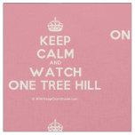 [Crown] keep calm and watch one tree hill  Fabrics Fabric