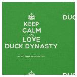 [Crown] keep calm and love duck dynasty  Fabrics Fabric