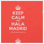 [Crown] keep calm and hala madrid  Fabrics Fabric