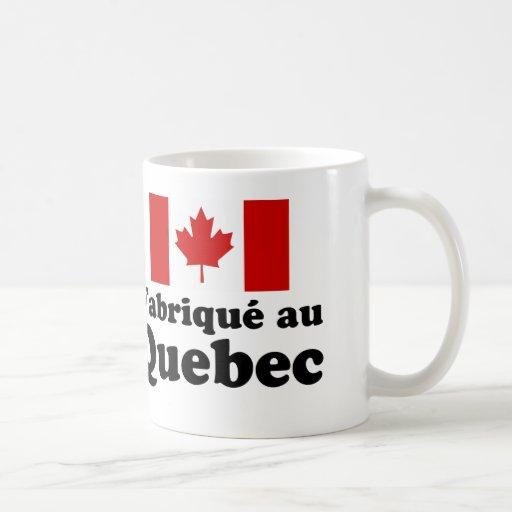 Fabrique au Quebec Coffee Mugs