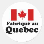 Fabrique au Quebec Sticker