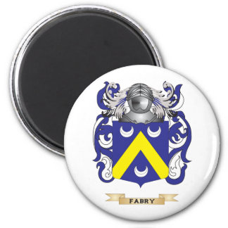Fabry Coat of Arms 2 Inch Round Magnet