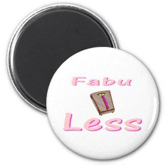 Fabu-less 2 Inch Round Magnet