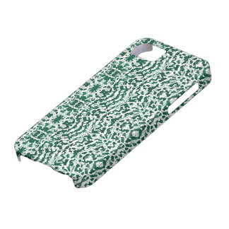 fabu - white and green iPhone SE/5/5s case