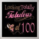 Fabuloso en 100 años posters