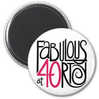 Fabuloso en el imán 40rty