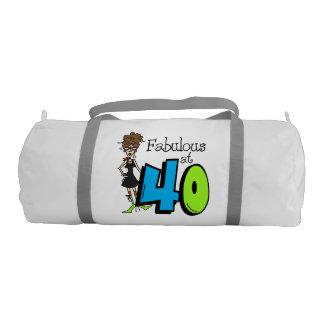Fabuloso en el petate 40 bolsa de deporte