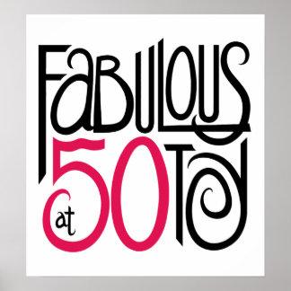 Fabuloso en el poster 50 póster