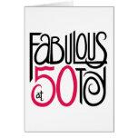 Fabuloso en la tarjeta 50