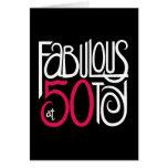 Fabuloso en la tarjeta negra 50