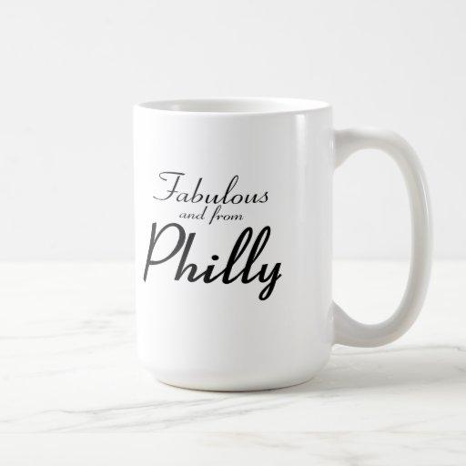 Fabuloso y de la taza de Philly