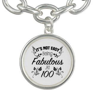 Fabulous 100th Birthday Charm Bracelets