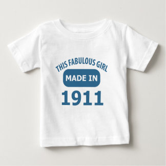 Fabulous 1911 year old designs baby T-Shirt