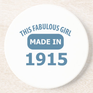 Fabulous 1915 year old designs coaster