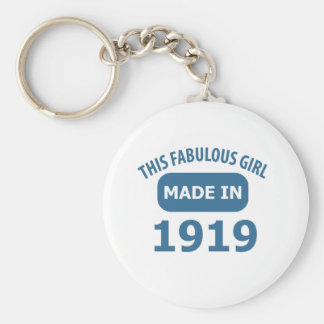 Fabulous 1919 year old designs keychain