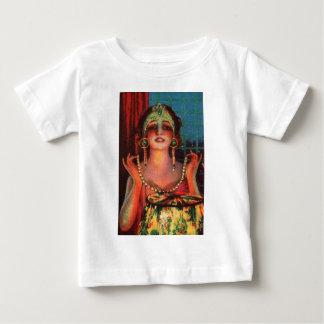 Fabulous 1920s Flapper Era Showgirl Baby T-Shirt