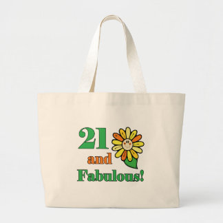 Fabulous 21st Birthday Gifts Tote Bag
