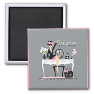 Fabulous 2 Inch Square Magnet