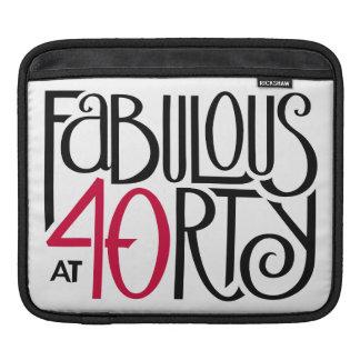 Fabulous 40 black red MacBook Air Sleeve