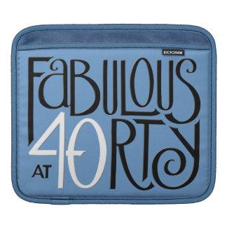 Fabulous 40 black white blue MacBook Air Sleeve