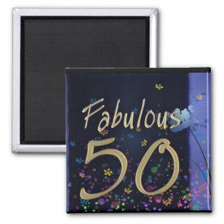 Fabulous 50th Birthday! Magnet