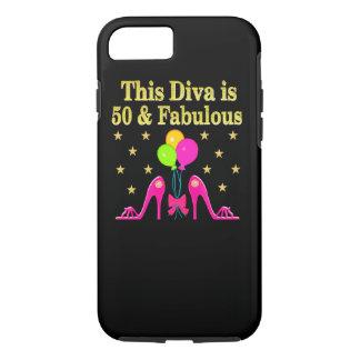 FABULOUS 50TH SHOE LOVER DESIGN iPhone 8/7 CASE