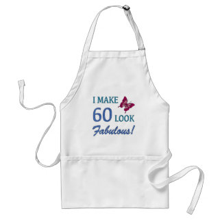 Fabulous 60th Birthday Gifts For Women Adult Apron