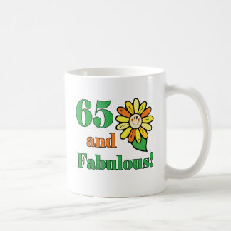 Fabulous 65th Birthday Gifts Coffee Mug