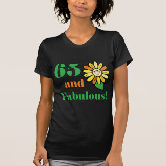 Fabulous 65th Birthday Gifts T-Shirt