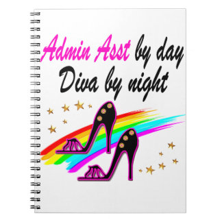 FABULOUS ADMINISTRATIVE ASSISTANT SPIRAL NOTEBOOK