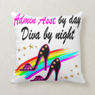 FABULOUS ADMINISTRATIVE ASSISTANT THROW PILLOW